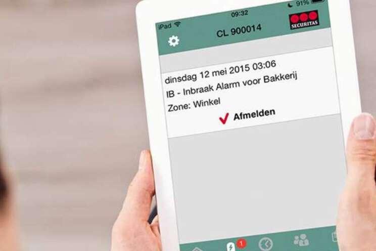 Securitas Alarm App