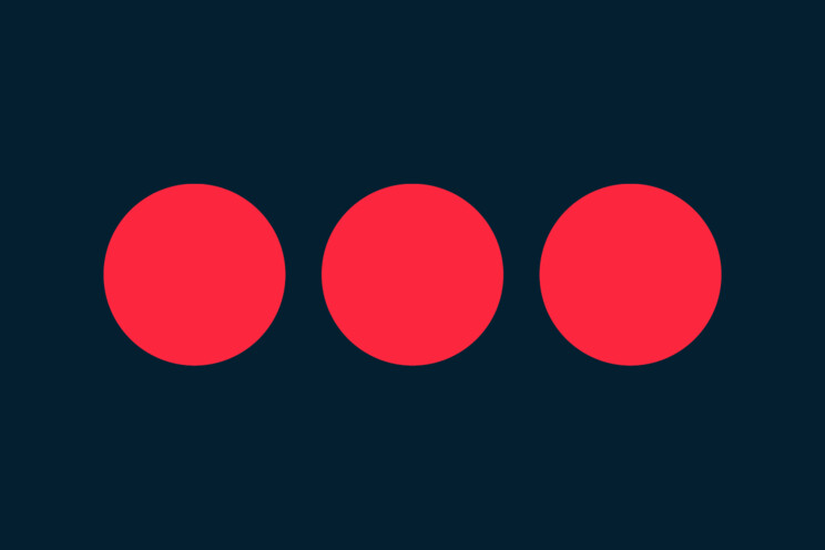 Logo Securitas tvoří tři červené body, které symbolizují hodnoty společnosti: čestnost, ostražitost a užitečnost.