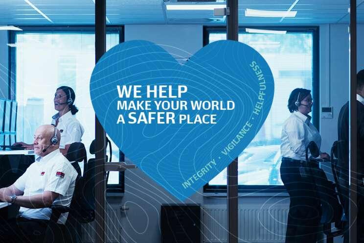 Cílem pracovníků Securitas je pomáhat dělat váš svět  bezpečnější