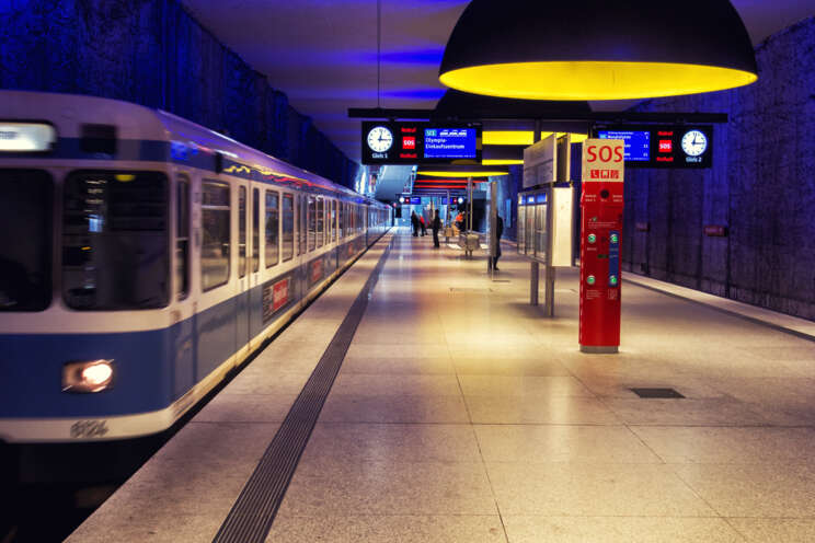 U-Bahn Station in München © MVV GmbH
