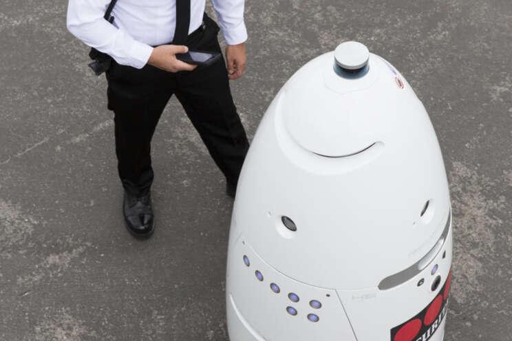 Roboti ve službách Securitas
