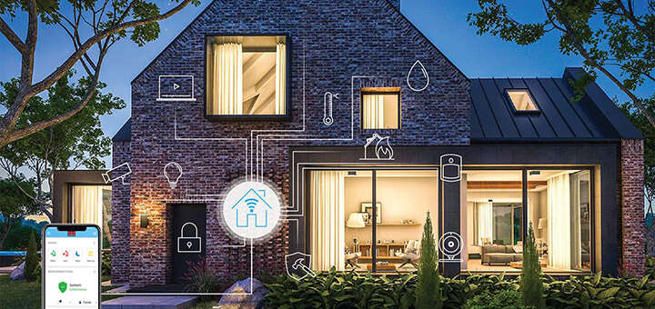 Smart house SecuritasHome Belgium