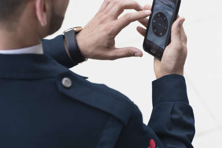 Remote Überwachung am Smartphone