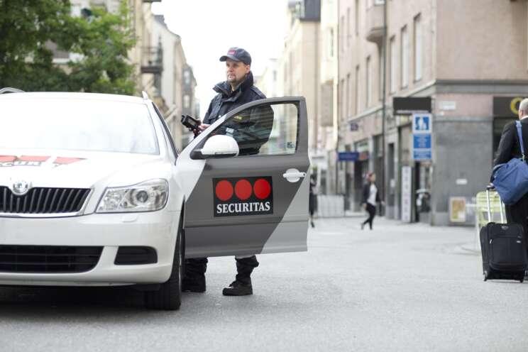 Sicherheitsmitarbeiter im Revierdienst