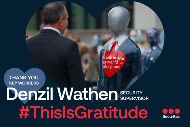 Securitas news - gratitude to a security officer