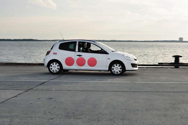 Fahrzeug der Mobilen Sicherheitsdienste