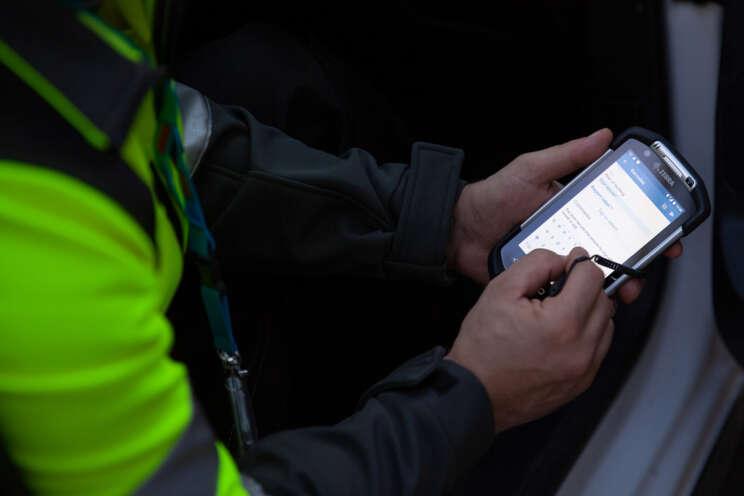 Securitas mobile Guard Reporting System