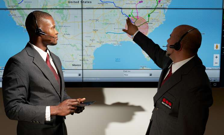Security management discussing crisis management.