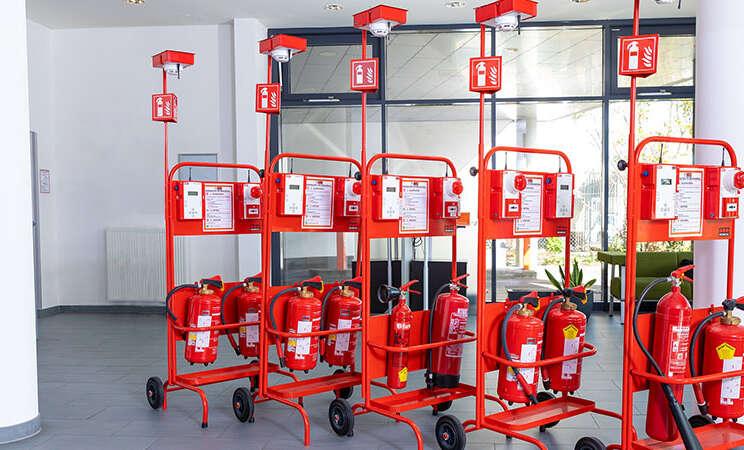 Securitas Fire Trolley