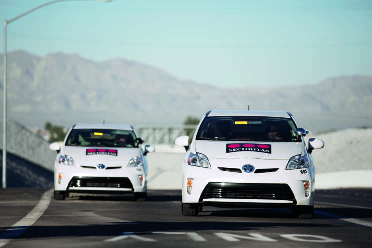 Securitas Mobil Fahrzeuge