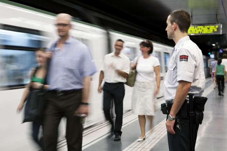 Sicherheitsmitarbeiter im Öffentlichen Personenverkehr (ÖPV)