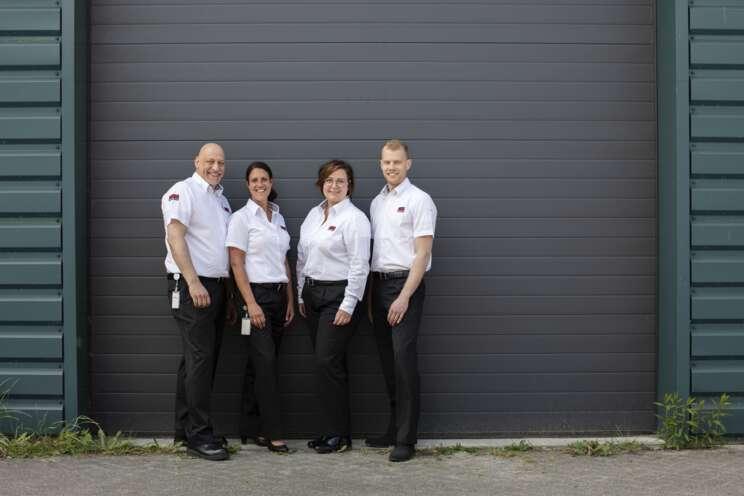 Team von Sicherheitsmitarbeitern