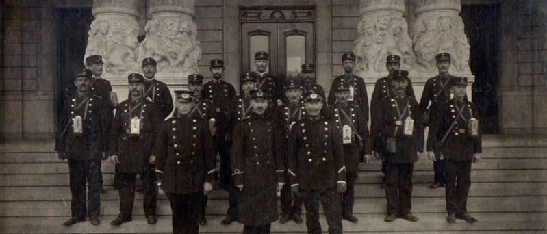 Securitas History, Pinkerton Guards