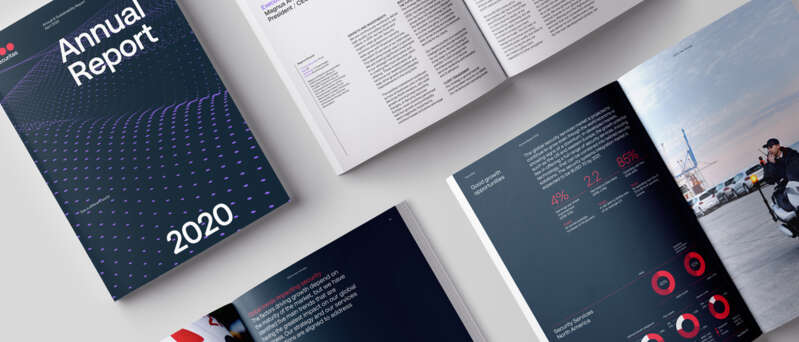 Illustrations of annual report 2020