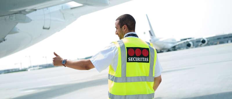 Securitas Flughafensicherheit