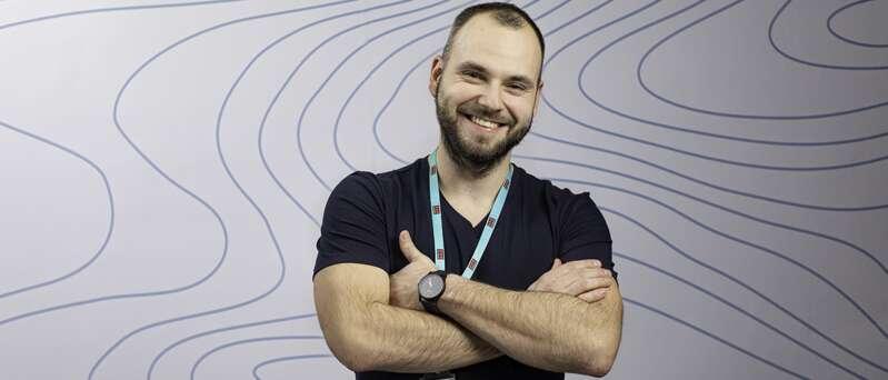 Filip pracuje v Securitas jako interní školitel.
