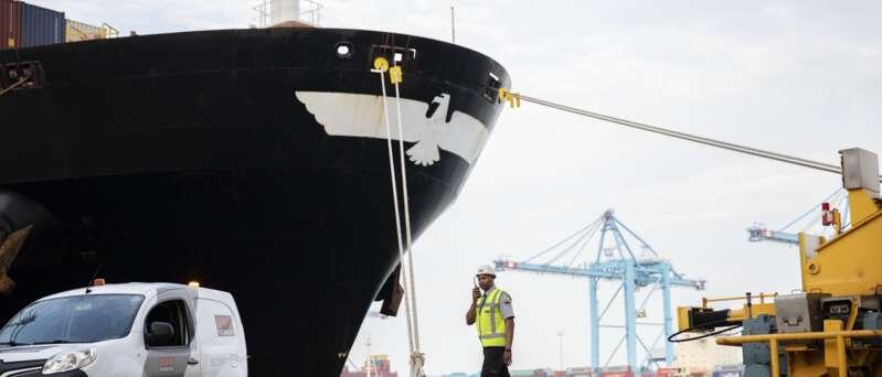 Hafensicherheit