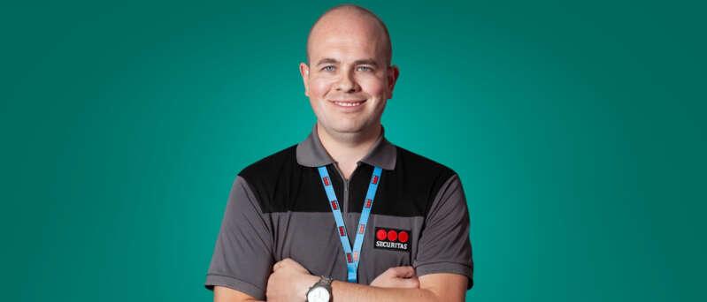 Careers at Securitas - Meet our people - Steven - mobile patrol officer