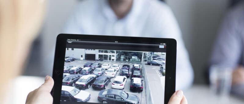 Chytrý parkovací systém Securitas ochrání vaše auto na parkovišti