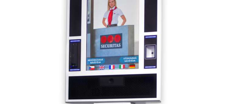 Securitas navrhuje, instaluje a servisuje návštěvní, informační a platební systém eRecepce.