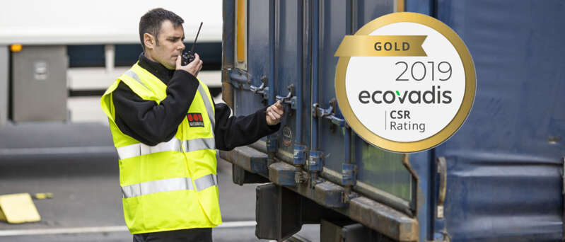 Securitas, médaille d'or EcoVadis en 2019