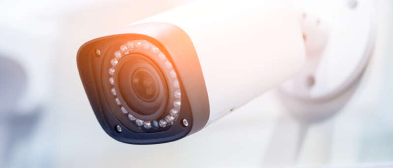 Kamerový systém instalovaný Securitas