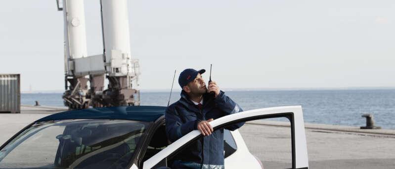 Mobilfahrer im Einsatz