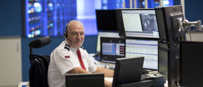 Securitas Notruf- und Serviceleitstelle (NSL) in Berlin