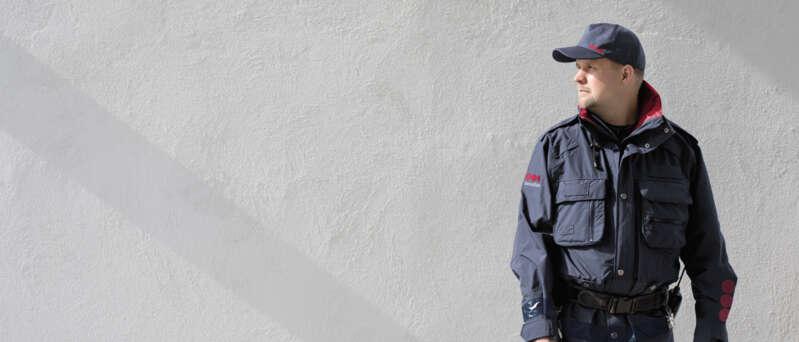 Securitas Sicherheitsdienst Mitarbeiter