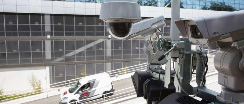 Sicherheitstechnik im Einsatz