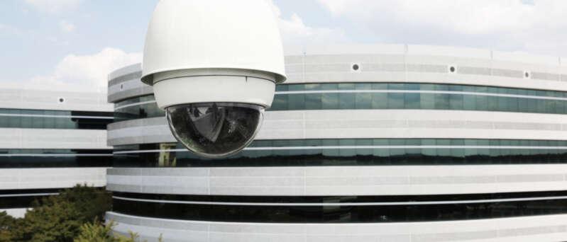Videoüberwachungstechnik von Securitas